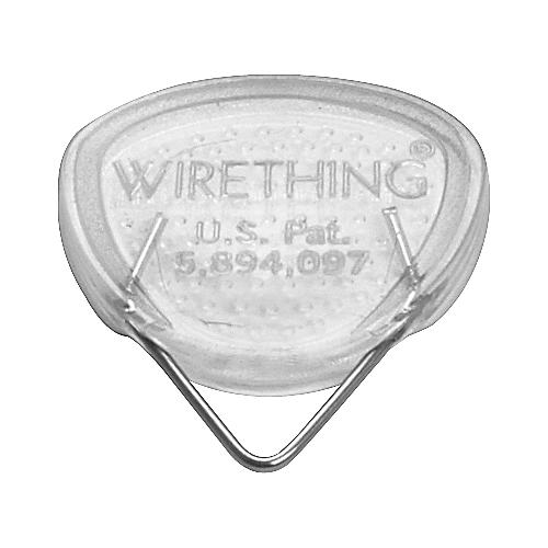 Wirething Clear Acrylic Steel Wire Pick