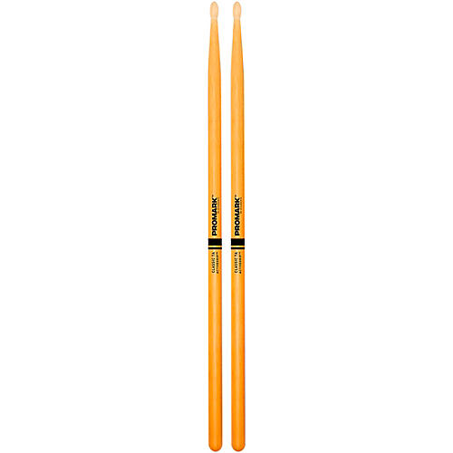 Promark Clear ActiveGrip Drumsticks 7A Wood