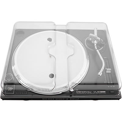 Decksaver Clear Polycarbonate Cover for Denon VL12 PRIME Professional Turntable