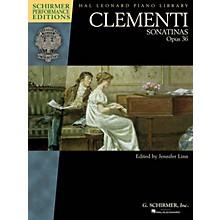 G. Schirmer Clementi - Sonatinas, Opus 36 Schirmer Performance Editions by Clementi Edited by Jennifer Linn