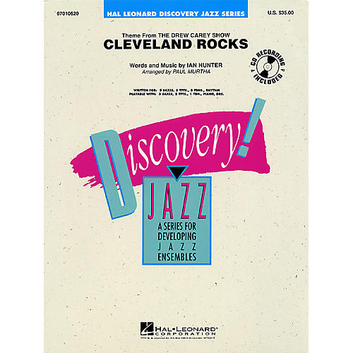 Hal Leonard Cleveland Rocks Jazz Band Level 1-2 Arranged by Paul Murtha