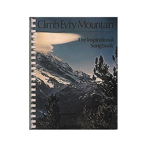 Hal Leonard Climb Ev'ry Mountain Piano/Vocal/Guitar Songbook