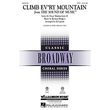 Hal Leonard Climb Ev'ry Mountain (from The Sound of Music) SATB arranged by Ed Lojeski