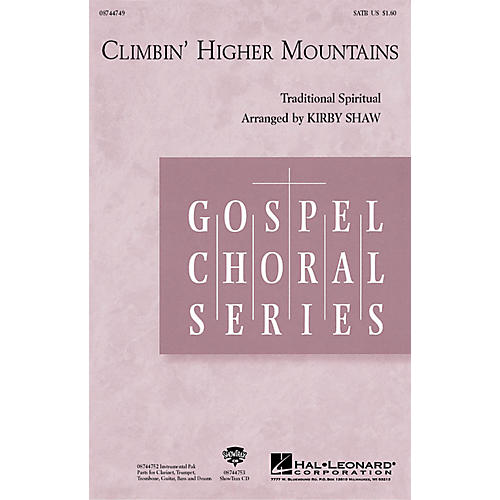 Hal Leonard Climbin' Higher Mountains SAB by Aretha Franklin Arranged by Kirby Shaw