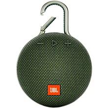 Clip 3 Waterproof Portable Bluetooth Speaker Green