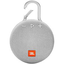 Clip 3 Waterproof Portable Bluetooth Speaker White
