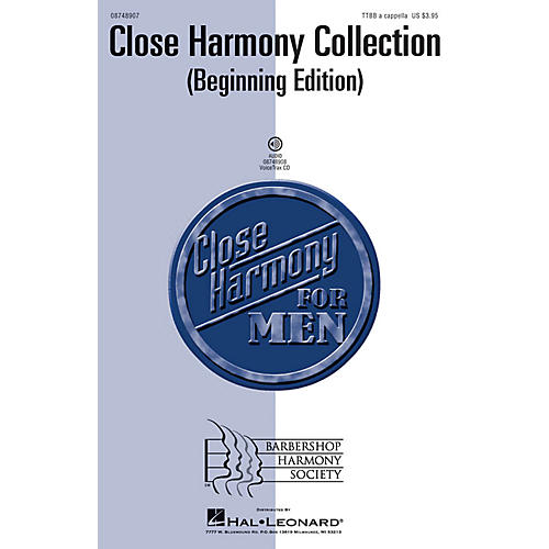 Hal Leonard Close Harmony Collection - Beginning Edition VoiceTrax CD