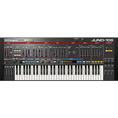Roland Cloud Cloud JUNO-106 Software Synthesizer (Download)
