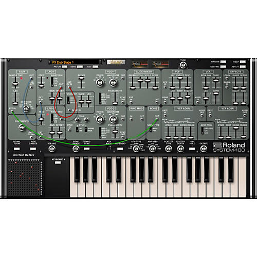 Roland Cloud Cloud SYSTEM-100 Software Synthesizer (Download)