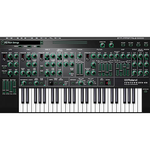 Roland Cloud Cloud SYSTEM-8 Software Synthesizer (Download)