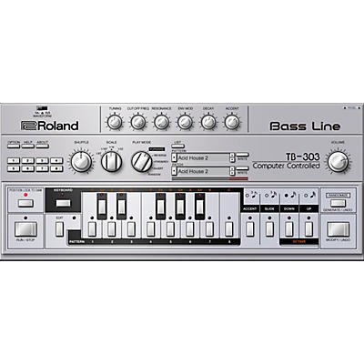Roland Cloud Cloud TB-303 Software Synthesizer (Download)