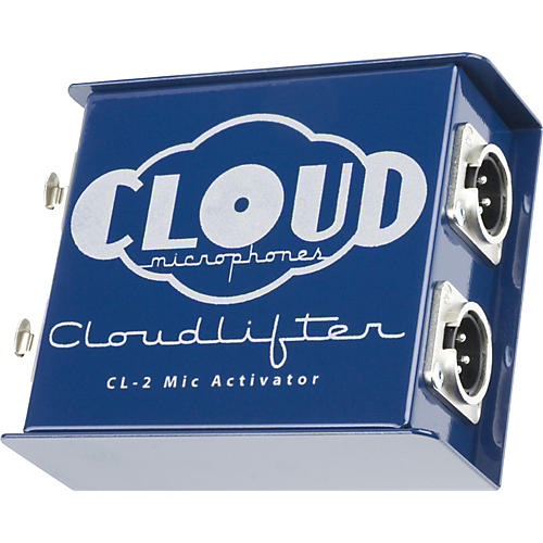 Cloud Cloudlifter CL-2 Phantom powered gain booster for dynamic and ribbon mics Condition 1 - Mint