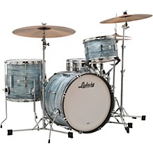 Club Date 3-Piece Downbeat Shell Pack with 20 in. Bass Drum Vintage Blue Oyster