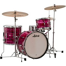 Club Date 3-Piece Fab Shell Pack with 22 in. Bass Drum Ruby Strata