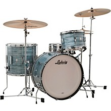 Club Date 3-Piece Fab Shell Pack with 22 in. Bass Drum Vintage Blue Oyster