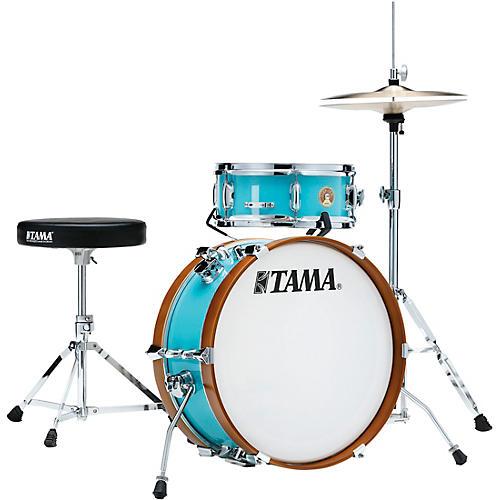 TAMA Club-JAM mini 2-Piece Shell Pack with 18 in. Bass Drum Aqua Blue