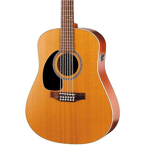 seagull coastline series s12 left handed 12 string qi dreadnought acoustic electric guitar. Black Bedroom Furniture Sets. Home Design Ideas