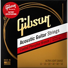 Gibson Coated Phosphor Bronze Acoustic Guitar Strings