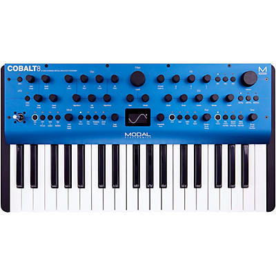 Modal Electronics Limited Cobalt8 37-Key 8 Voice Extended Virtual Analog Synthesizer