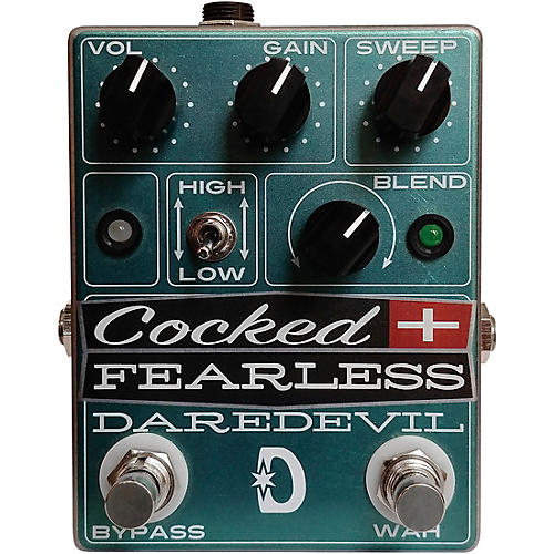 Daredevil Pedals Cocked and Fearless Distortion Effects Pedal