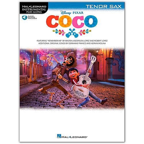 Hal Leonard Coco For Tenor Sax - Instrumental Play-Along (Book/Audio Online)