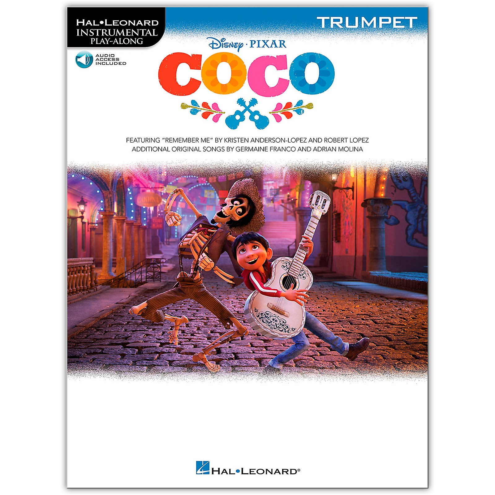 Hal Leonard Coco For Trumpet - Instrumental Play-Along (Book/Audio Online)