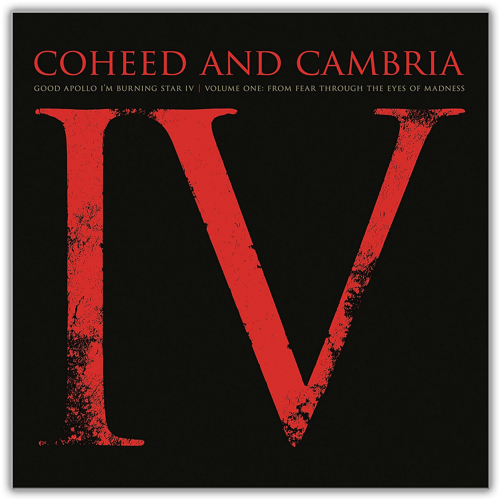 Sony Coheed and Cambria/Good Apollo I'm Burning Star IV Volume One:  From Fear Through The Eyes Of Madness (2 LP)