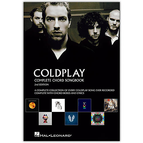 Music Sales Coldplay - Complete Chord Songbook - Guitar Chord Songbook Series (2nd Edition)