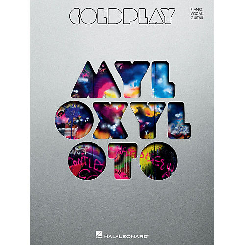 Hal Leonard Coldplay - Mylo Xyloto Piano/Vocal/Guitar Songbook