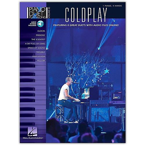 Hal Leonard Coldplay - Piano Duet Play-Along Volume 45 Book/Online Audio