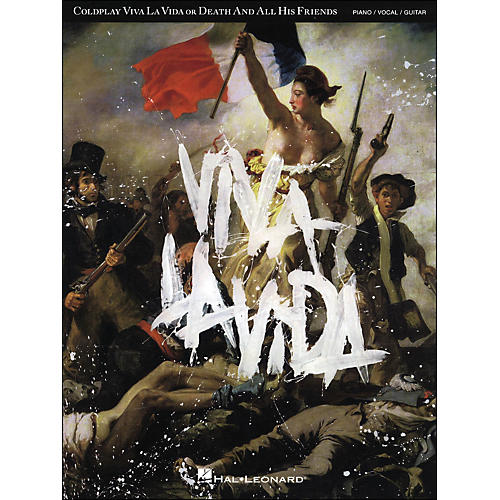 Hal Leonard Coldplay - Viva La Vida arranged for piano, vocal, and guitar (P/V/G)