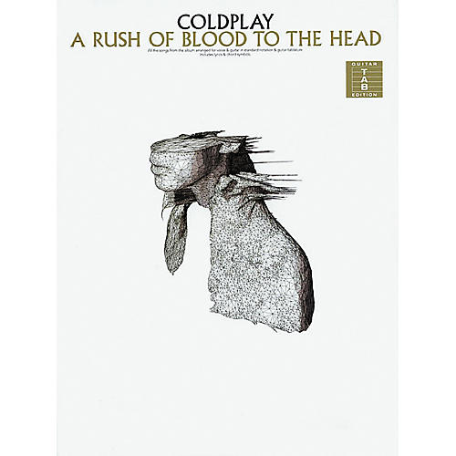 Hal Leonard Coldplay A Rush of Blood to the Head Guitar Tab Songbook