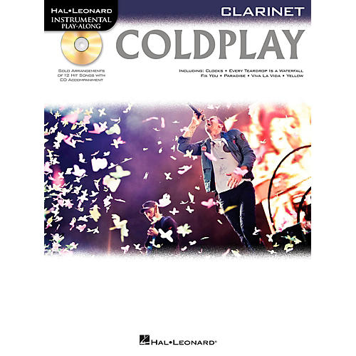 Hal Leonard Coldplay For Clarinet - Instrumental Play-Along CD/Pkg