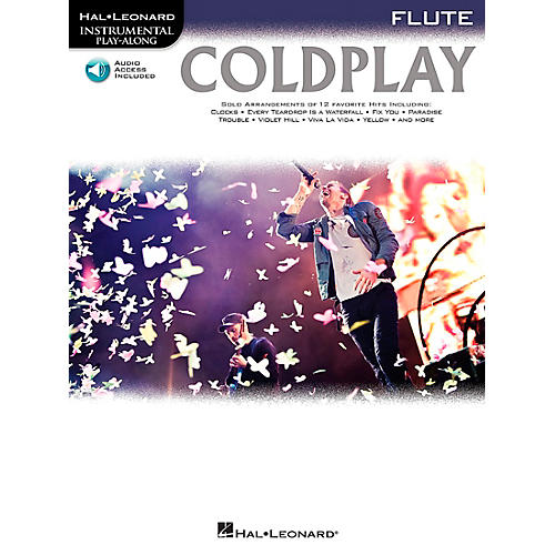 Hal Leonard Coldplay For Flute - Instrumental Play-Along CD/Pkg