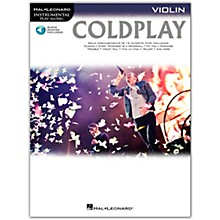 Hal Leonard Coldplay For Violin - Instrumental Play-Along Book/Online Audio