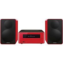 Colibrino CD Hi-Fi Mini System with Bluetooth Red