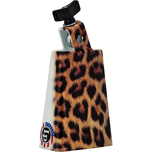 LP Collectabells Leopard Cowbell