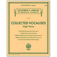 G. Schirmer Collected Vocalises: High Voice - Concone, Lutgen, Sieber, Vaccai