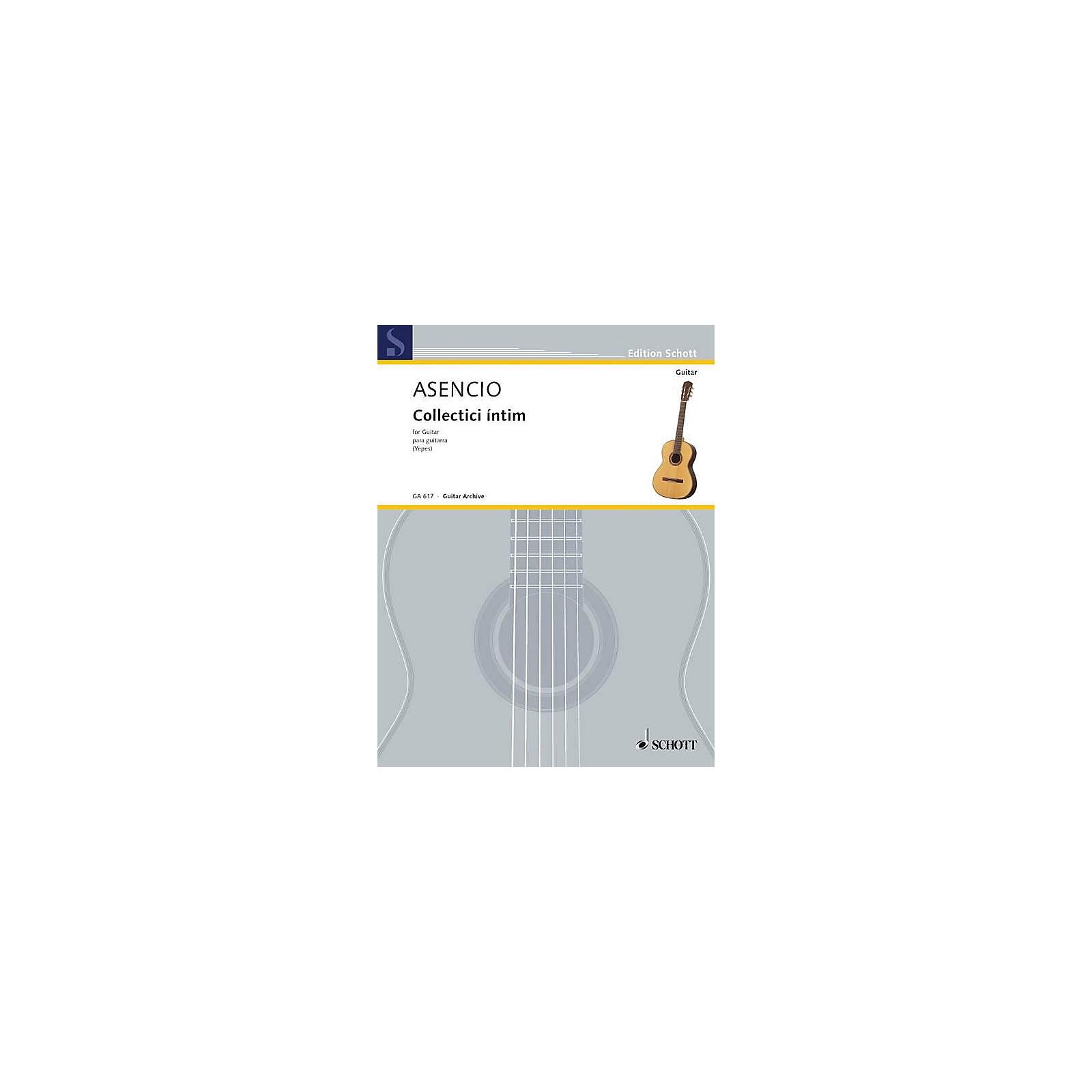 Schott Collectici Intim (Guitar Solo) Schott Series