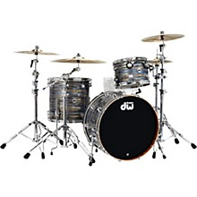 DW Collector's Series 3-Piece Maple/Mahogany Finish Ply Shell Pack with Chrome Hardware