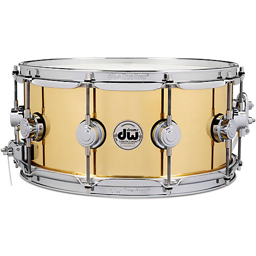 DW Collector's Series Brass Snare Drum 14 x 6.5 in. Polished