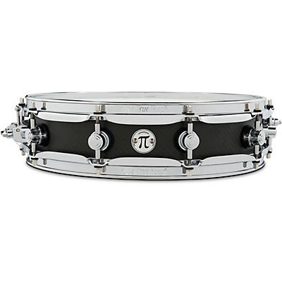 DW Collector's Series Carbon Fiber Pi Snare Drum With Chrome Hardware