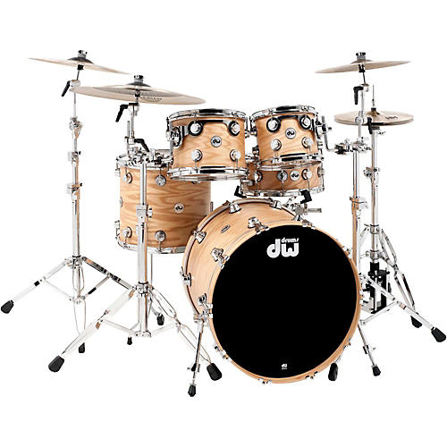 DW Collector's Series Lacquer Custom Oak 4-Piece Shell Pack