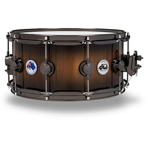 DW Collector's Series Limited Edition Pure Tasmanian Timber Snare Drum, 14x6.5