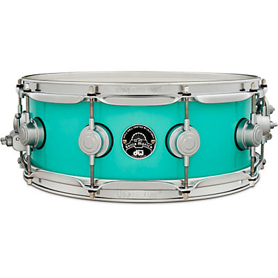 DW Collector's Series Santa Monica Snare Drum with Satin Chrome Hardware