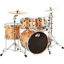 DW Collector's Series Satin Oil Cherry/Spruce 4-Piece Shell Pack with Chrome Hardware