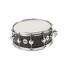 Collector's Series Satin Oil Snare Drum Ebony with Chrome Hardware 14x6
