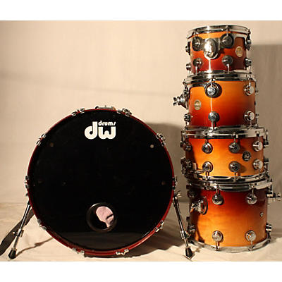 DW Collector's Series With Matching Snare Drum Kit