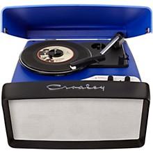 Collegiate Portable USB Turntable Blue