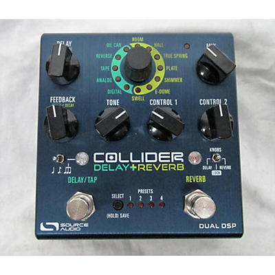 Source Audio Collider Delay Reverb Effect Pedal